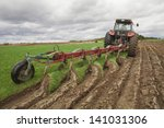 Ploughing In The Fields