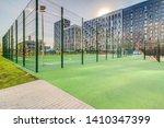 sports ground in courtyard of... | Shutterstock . vector #1410347399