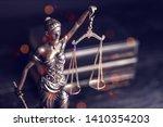 closeup of a sculpture of... | Shutterstock . vector #1410354203