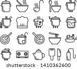 cooking line icon set. contains ...   Shutterstock .eps vector #1410362600