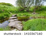 One of the beginning springs of the River Kennet at it