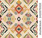tribal vector ornament.... | Shutterstock .eps vector #1410370310