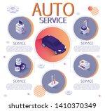 banner with isometric design... | Shutterstock .eps vector #1410370349