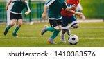 Children Play Football...