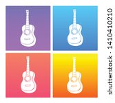 4 sets   collection gradient... | Shutterstock .eps vector #1410410210