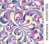 silk texture fluid shapes ...   Shutterstock .eps vector #1410417800