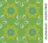summer branches elegant...   Shutterstock .eps vector #1410417803