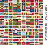 vector of national flags symbol ... | Shutterstock .eps vector #141041893