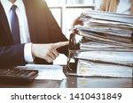 bookkeeper or financial... | Shutterstock . vector #1410431849