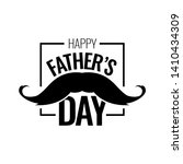 happy father s day. father day... | Shutterstock .eps vector #1410434309