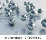 3d balls | Shutterstock . vector #141044560