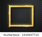 vector glowing magic square... | Shutterstock .eps vector #1410447713