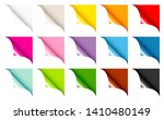 set of fifteen web corners full ... | Shutterstock .eps vector #1410480149