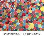 Abstract Watercolor Polka Dots...
