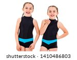 portrait of identical twin... | Shutterstock . vector #1410486803
