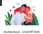 medical insurance template ... | Shutterstock .eps vector #1410497240
