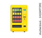 vending machine icon. vending... | Shutterstock . vector #1410497390