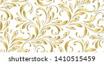 golden floral pattern. royal... | Shutterstock .eps vector #1410515459