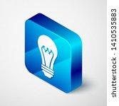 isometric light bulb icon...   Shutterstock .eps vector #1410535883