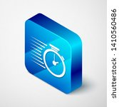 isometric stopwatch icon... | Shutterstock .eps vector #1410560486