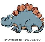 vector illustration of cartoon... | Shutterstock .eps vector #141063790