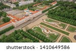 Aerial view of Charlottenburg Palace in Berlin