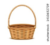traditional willow wicker... | Shutterstock .eps vector #1410652739