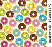 seamless vector background with ... | Shutterstock .eps vector #1410685370