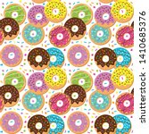 seamless vector background with ... | Shutterstock .eps vector #1410685376
