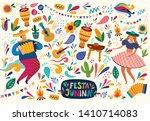 beautiful vector illustration... | Shutterstock .eps vector #1410714083