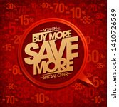 buy more  save more  sale... | Shutterstock .eps vector #1410726569