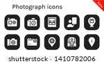 photograph icon set. 10 filled... | Shutterstock .eps vector #1410782006