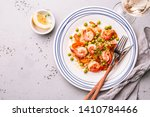 colorful dinner  lunch   ... | Shutterstock . vector #1410784466
