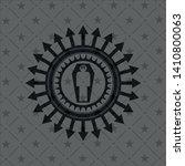 dead man in his coffin icon...   Shutterstock .eps vector #1410800063