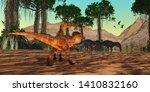 Cretaceous Era Swamp 3d...