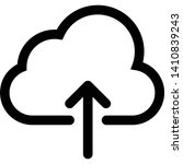 ui symbol  upload to cloud...