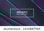abstract dark background with... | Shutterstock .eps vector #1410887969