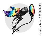 Colorful Condenser Microphone...