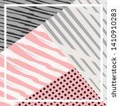 abstract silk hijab creative... | Shutterstock .eps vector #1410910283