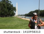 the vietnam wall memorial... | Shutterstock . vector #1410958313