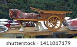 Clydesdale Horse And Cart...