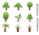 tree icon | Shutterstock .eps vector #141103228