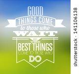 typographic poster design  ... | Shutterstock .eps vector #141106138