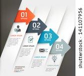 abstract arrow infographics... | Shutterstock .eps vector #141107956