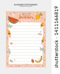 set of weekly planners and to... | Shutterstock .eps vector #1411166819