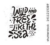 internal freedom inspirational... | Shutterstock .eps vector #1411215389
