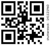 qr code  | Shutterstock .eps vector #141121960