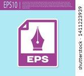 retro purple eps file document... | Shutterstock .eps vector #1411223939