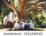 lalibela  ethiopia   november...   Shutterstock . vector #1411240160