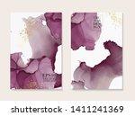 marble card wedding invitation... | Shutterstock .eps vector #1411241369